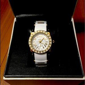 Aquaswiss women's gold/white watch